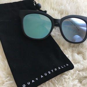 Quay Large Cat Eye Sunnies
